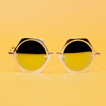 Double Space Sunglasses   Silver
