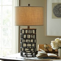 Ventana Iron Table Lamp Base