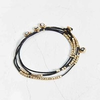 We Are All Smith Evil Eye Wrap Around Bracelet- Black One
