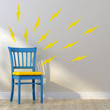 Lightning Bolts Mini-Pack Wall Decals