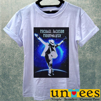 Low Price Women's Adult T-Shirt - Michael Jackson Moon Wallker design