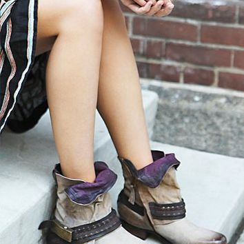 A.S.98. Womens Daxton Ankle Boot - Safari,