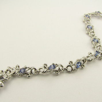 Wexford Jewelers   our passion is design >> Swirl Gemstone Bracelet