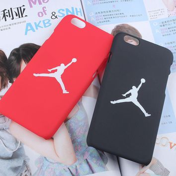 Fashion flyman Michael Jordan PC case for Apple iphone 7 6 6s 7 plus 4.7 5.5 SE 5 5S b