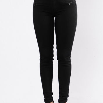 Riding Shotgun Jeans - Black