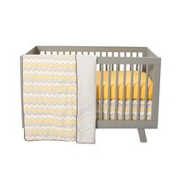 Buttercup Zigzag 3 Piece Crib Set