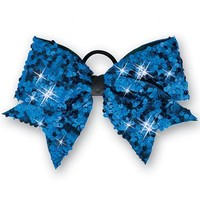 Ultra Sparkle Sequin Bow Ponytail Holder | Balera™