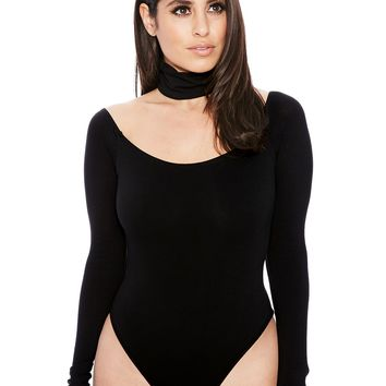 The NW Choker Bodysuit - Womens Nakedwardrobe