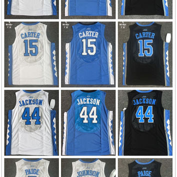 2017 New arrivals High quality Stitched Marcus Paige Justin Jackson Joel Berry II basketball jerseys for men