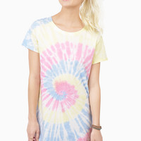 Mother Earth Tie Dye T-Shirt Dress