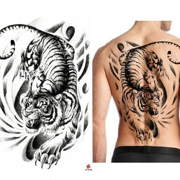 Waterproof Extra Large Temporary Tattoo Sticker Full Whole Back
