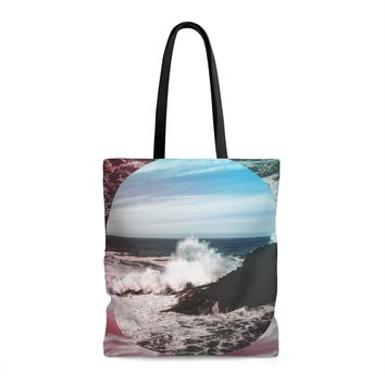 Ocean Surf Lined Tote Bag With Liner - 3 Sizes