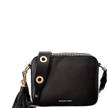 Michael Kors Brooklyn Large Camera Bag Leather