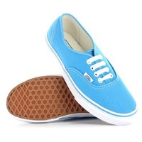 Vans Authentic Blue White Womens Trainers