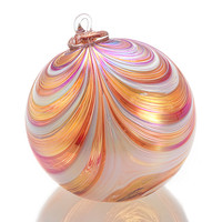 Dreamsicle  by Paul Lockwood: Art Glass Ornament - Artful Home