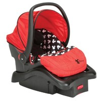 Disney Baby Mickey Mouse Light N Comfy Luxe Infant Car Seat, Mickey Silhouette (Discontinued by Manufacturer)