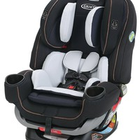 Graco Baby 4Ever Extend2Fit All-in-1 Convertible Car Seat Infant Booster Hyde