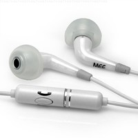 MEElectronics CC51P Clarity Series Ceramic In-Ear Headphone with In-Line Microphone and Remote for iPhone and Smartphones (White) (Discontinued by Manufacturer)