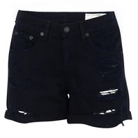 Distressed Boyfriend Short
