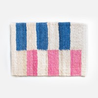 Doli Door Mat - Blue & Pink