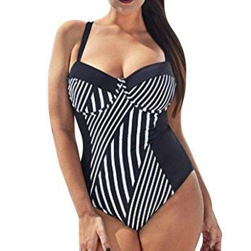 PEAP78W Bikini 2017 New Swimsuit Women Bikini Push Up Sexy Plus Size Women One-piece Large Swimwear Tankini #EW