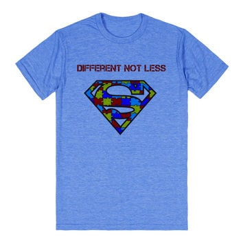autism awareness superman tee