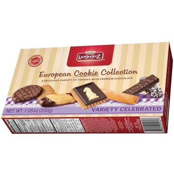 Lambertz European Chocolate Cookies Collection, 7 oz