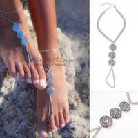 Gift Sexy Jewelry Shiny Ladies Cute New Arrival Accessory Stylish Vintage Metal Anklet [7241003655]