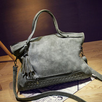 Winter Rivet Casual One Shoulder Bags Messenger Bags [6581209607]