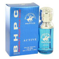 Beverly Hills Polo Club Active Cologne By BEVERLY FRAGRANCES FOR MEN Eau De Toilette Spray 1.7 oz