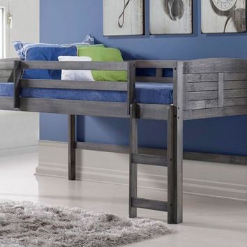 Hailey Grey Modern Loft Bed