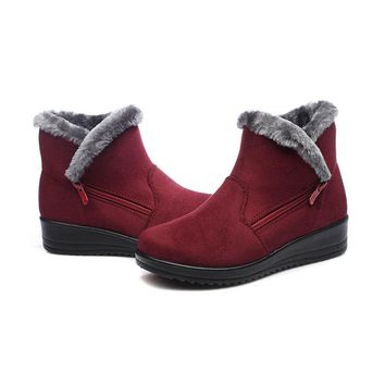 Hot Deal On Sale Shoes Anti-skid Soft Plus Size Boots [79791620121]