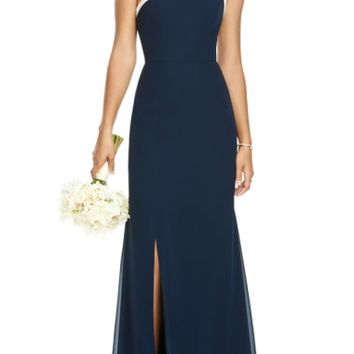 Social Bridesmaids One-Shoulder Chiffon Gown | Nordstrom