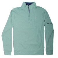Custom Saltwater 1/4 Zip in Hammock by Vineyard Vines