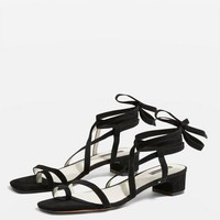 Strappy Sandals   Topshop