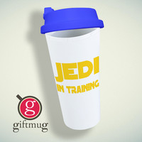 Jedi In Training Cool Star Wars Double Wall Plastic Mug