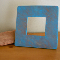 Painted Frame Turquoise Bronze by Acires on Etsy