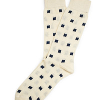 Pixels Graph Sock