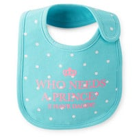 Princess Teething Bib