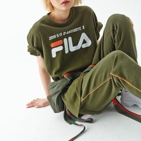 D-Antidote x Fila T-Shirt With Taping