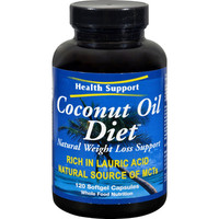 Health Support Coconut Oil Diet - 120 Softgels