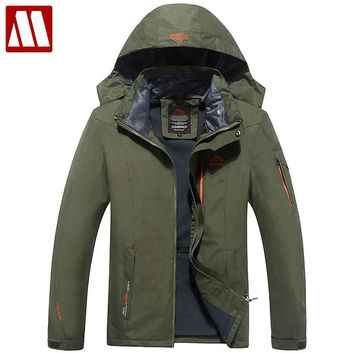 Men Warm Coat Brand Winter Windbreaker