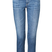 Adriano Goldschmied - Blue Washed The Stilt Roll-Up Jeans