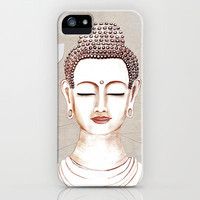 Buddha concentrate iPhone 5c 5s 5 4s 4 3gs 3g Samsung Galaxy s4 & iPod Impact Resistant Case by Vanya