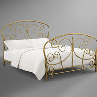 Madaline Gold Bed in a Box