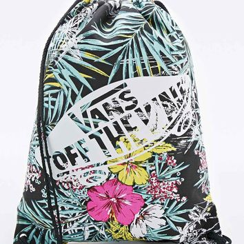 Vans Hawaiian Drawstring Bag in Black - Urban Outfitters
