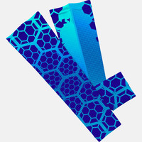 Hex Blue arm sleeve