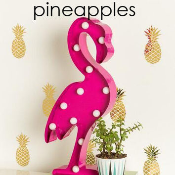 "Pineapple decal diy 12""x 6"""
