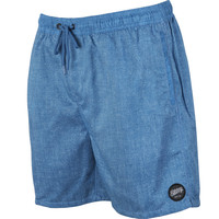 Billabong Men's Serg Chambray Elastic Waist Walkshort Nautical Blue