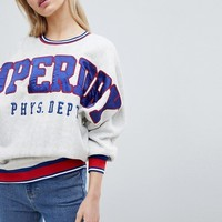Superdry Collgiate Sweatshirt at asos.com